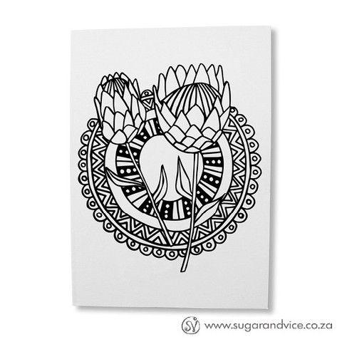 protea tattoo - Google Search
