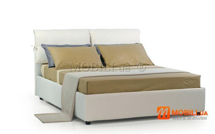 Двухспальные кровати из Италии с подъемником и местом для белья  http://mobili.ua