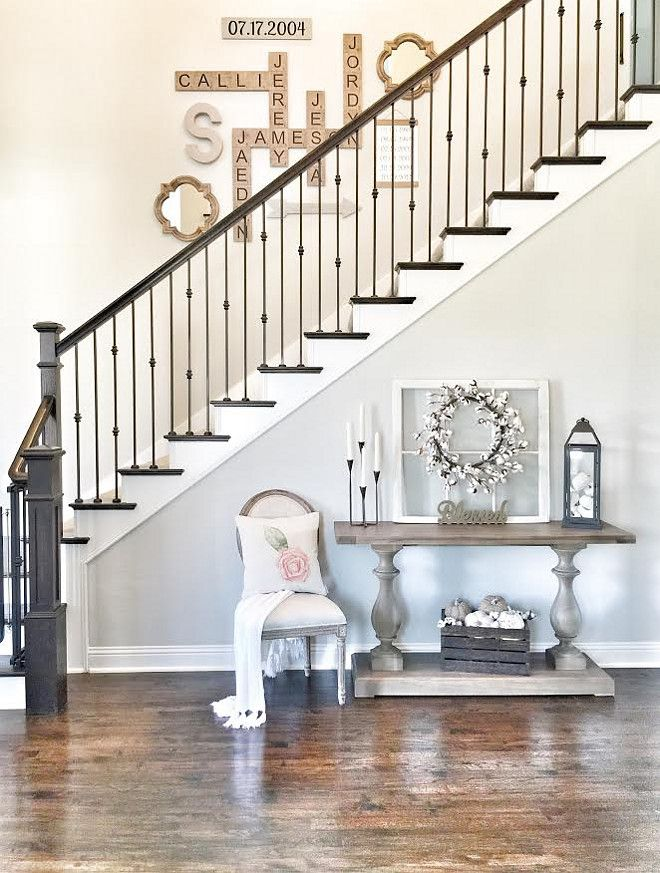 Sherwin Williams Repose Gray. Wall paint color is Sherwin Williams Repose Gray. Sherwin Williams Repose Gray. #SherwinWilliamsReposeGray #wall #paintcolor Beautiful Homes of Instagram ceshome6