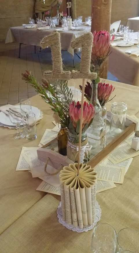 Diy table decor