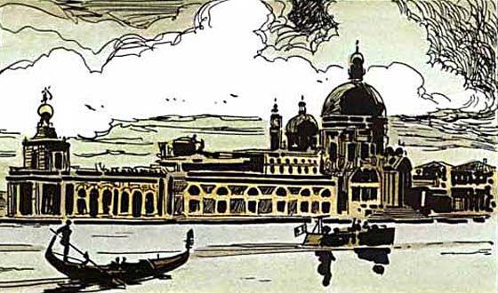Hugo Pratt - Corto Maltese: The Lagoon of Mysteries (1979) - Venice