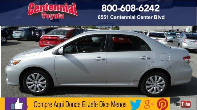 Carro muy  economico en las Vegas 2012 Toyota Corolla LE Sedan 4D