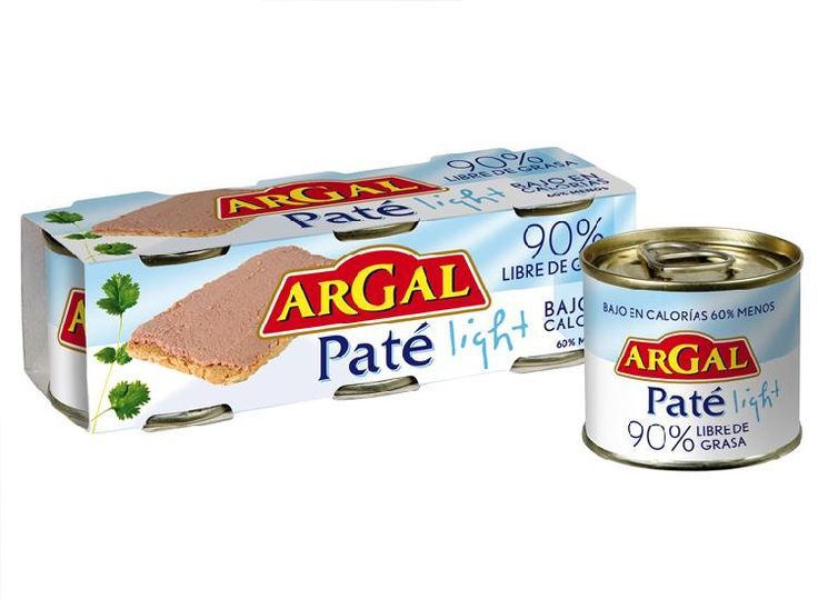 Paté Argal Light (Mercadona) - 1 lata 3 puntos.