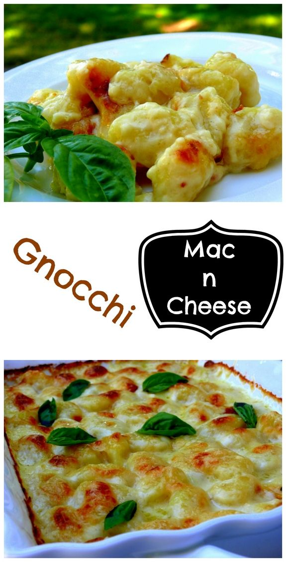 Gnocchi Mac n Cheese youve never tasted something so good