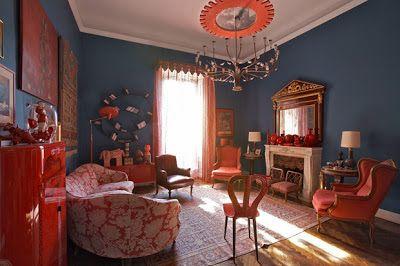 VINTAGE A COLORI: villa d'epoca nel cuore di #Milano - COLOURFUL #VINTAGE: #ArtNouveau Style #villa in Milan