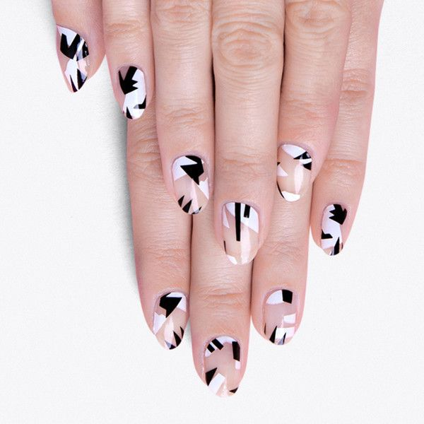 Particules Nail Stickers ($14) ❤ liked on Polyvore featuring beauty products, nail care, nail treatments, nails, makeup, beauty and nail polish