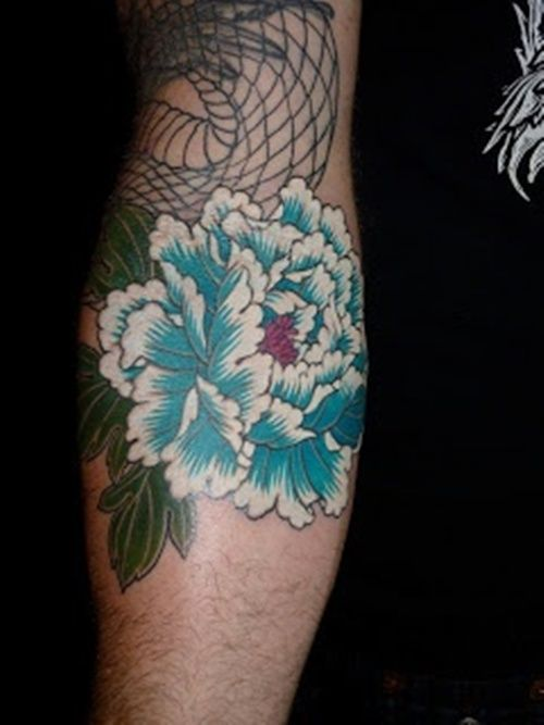 peony tattoos | 25 Beautiful Peony Flower Tattoos