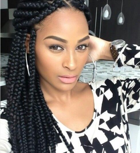 Black Braids Hairstyles Inspiration 19 Best Braids Images On Pinterest  African Braids Protective