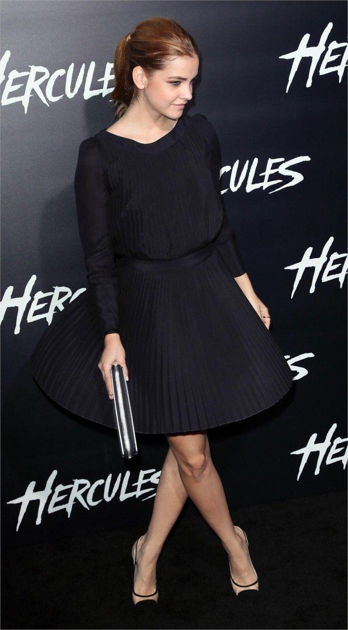 Barbara Palvin At The Premiere Of 'Hercules' In Los Angeles