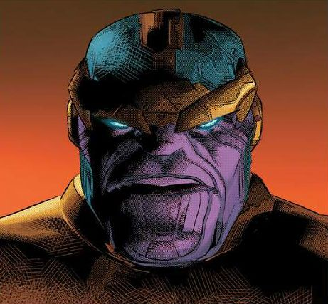 Thanos by Mike Deodato Jr