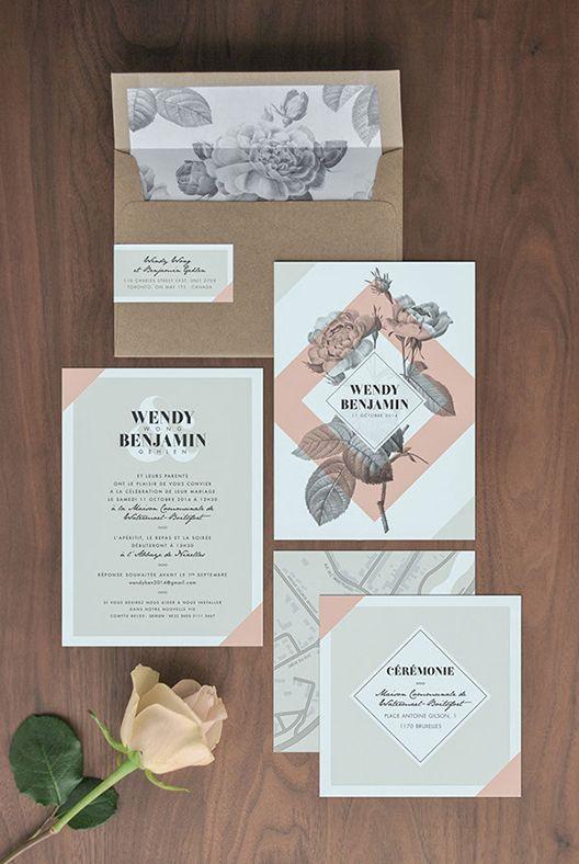 Benjamin Gehlen // Design Envy Wedding Invitation