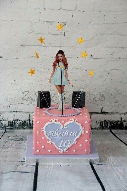 Ariana Grande Cake ♡ Let Us Eat Cake Pinterest
