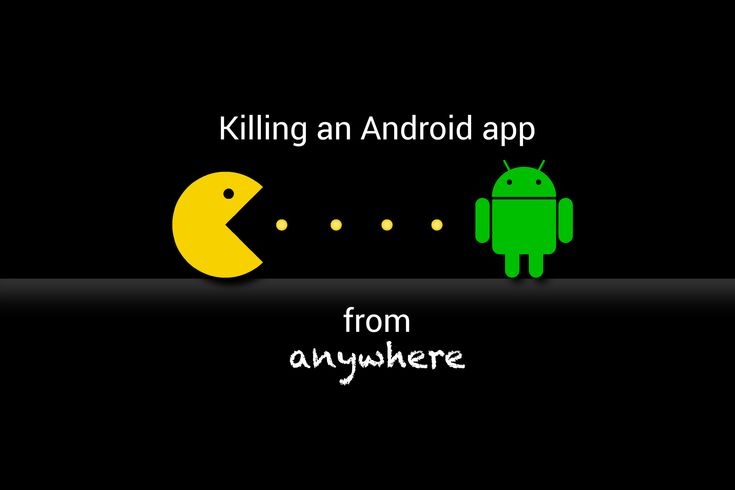 How to kill an Android app form anywhere? #android #programming #tips #hack