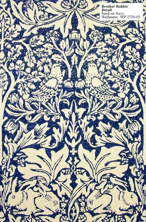 Brer Rabbit, William Morris 1882