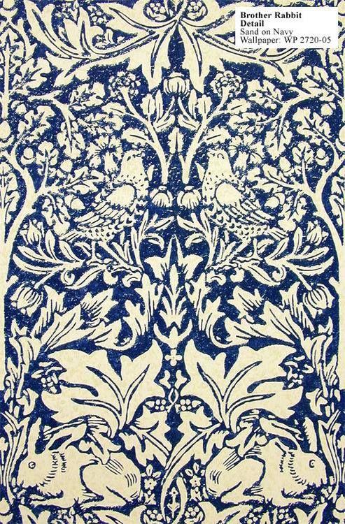 /\ /\ . Brer Rabbit, William Morris 1882