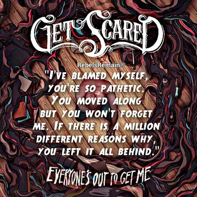 Get Scared lyrics