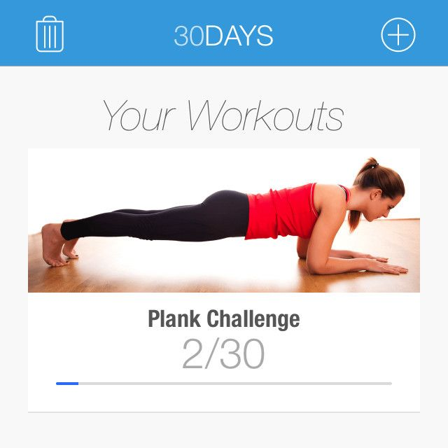 My new favorite app. I got it on Sunday and it's so nice! It's a lot like the squat challenge app pe...