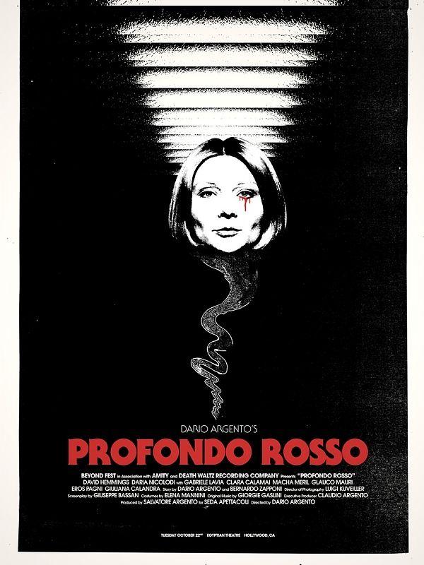 Rojo profundo (Profondo Rosso, Italia) Dario Argento