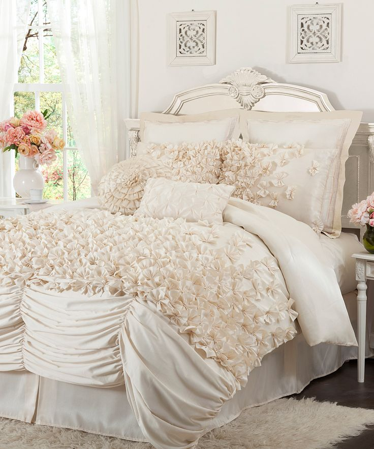 Over the top chic bedding  Master bedroom bedding we just got    Lush Decor  Lucia Comforter Set. 201 best BEDDING COVERS images on Pinterest   Bedspreads  Blankets