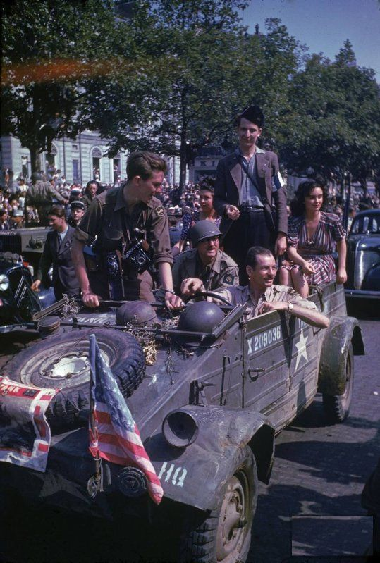 the liberation of Paris in August 1944