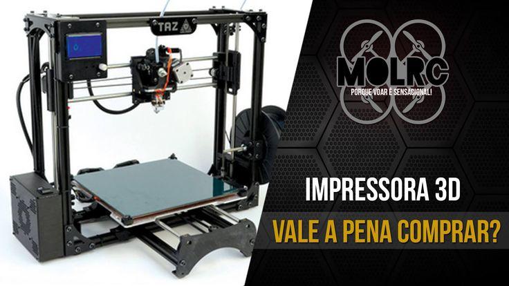 Impressoras 3D: vale a pena comprar? (Super promoção 36% DE DESCONTO, ve...
