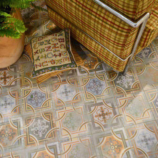 Mönstrat Kakel Comillas 20X20 - Kakel, Klinker & Mosaik - Köp online på Tiles R Us AB