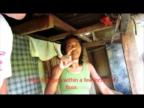 Living with the poor in a Squatter's Village in Iloilo City, Philippines...