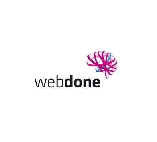 The task was to advice on relevant company name and design the whole identity. Webdone is the name that perfectly reflects the company's specialization. In a logo we see intermingling colorful lines forming the outline of the brain which at the same time shows the cloud of flowing information.Energetic, coherent, interesting and modern image of the Webdone contributed to it's unique character and distinguished it from competition. #logo #branding www.papajastudio.pl