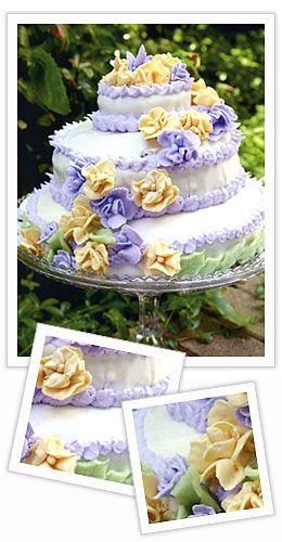Bröllopstårta, recept.