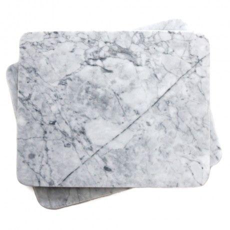 Set of 2 Marble Trivets