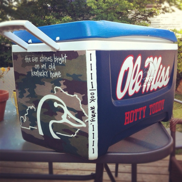 painted cooler college pinterest other home and coolers