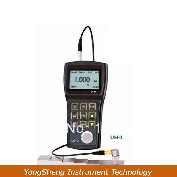 УМ-3 Высокоточный Ультразвуковой Толщиномер С 0.001 мм Резолюции Измерения Ультра Тонкий Образец Низко Как 0.15 мм