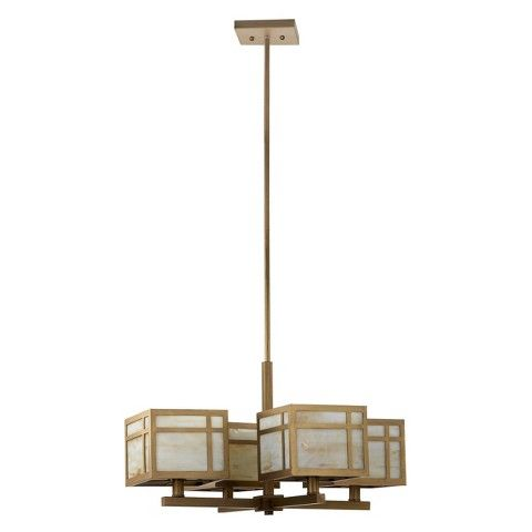 Safavieh Craftsman Chandelier Ceiling Light - Gold