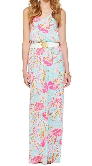 Lilly Pulitzer Mills Racerback Maxi Dress in Jellies Be Jammin