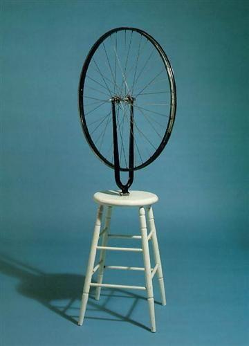 Bicycle Wheel - Marcel Duchamp - Dada, Kinetic Art, 1913