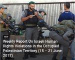 Laporan PCHR: 4 warga Palestina gugur 12 terluka oleh tentara Zionis dalam sepekan  TEPI BARAT (Arrahmah.com)  Dalam laporan mingguan yang dikeluarkan oleh Pusat Palestina untuk Hak Asasi Manusia (PCHR) menyebutkan bahwa pasukan pendudukan Israel terus melakukan kejahatan sistematis di wilayah Palestina yang diduduki.  Selama periode 15-21 Juni 2017 pasukan Zionis Israel telah membunuh 4 warga Palestina di Yerusalem yang diduduki. 12 warga Palestina lainnya termasuk 3 anak terluka di Tepi…
