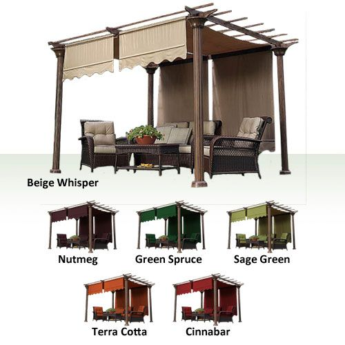 oasis club garden replacement designandcode instructions winds canopy pergola crest backyard discovery