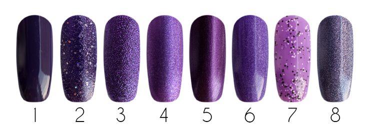 Purple Лаки для ногтей: 1- Milv, лак для ногтей (#56), 16 мл 2- Milv, лак для ногтей (#72), 16 мл 3- EL Corazon Kaleidoscope Термолак, цвет 03, 15 мл 4- EL Corazon, лак для ногтей (Matte & Shine Effect #162), 16 мл 5- El Corazon, лак Kaleidoscope (зеркальный лак f-14), 15 мл 6- EL Corazon Active Bio-gel - лечебный био-гель (423/28), 16 мл 7- EL Corazon Active Bio-gel - лечебный био-гель (423/140), 16 мл 8- EL Corazon Active Bio-gel - лечебный био-гель (423/27), 16 мл 9- EL Corazon, лак для…