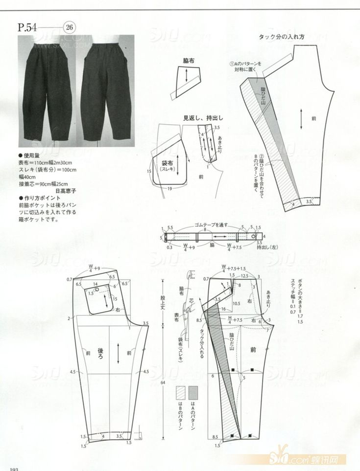 drafting pants