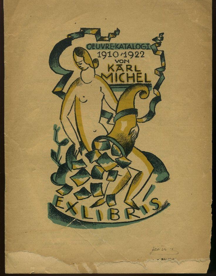 Michel, Karl: Oeuvre-Katalog 1910-1922. Frankfurt, Oder: Vogel & Neuber [1922].