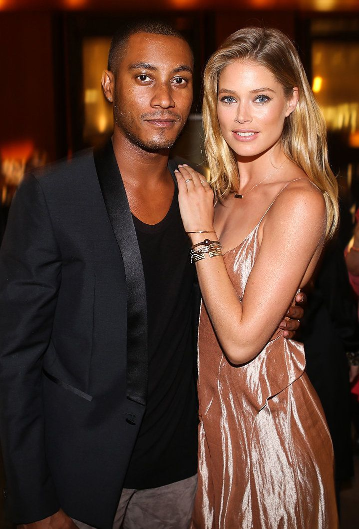 Interracial couples models