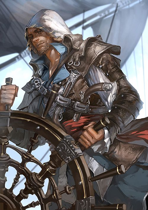 Assassin's Creed 4: Black Flag by Ada Zhang