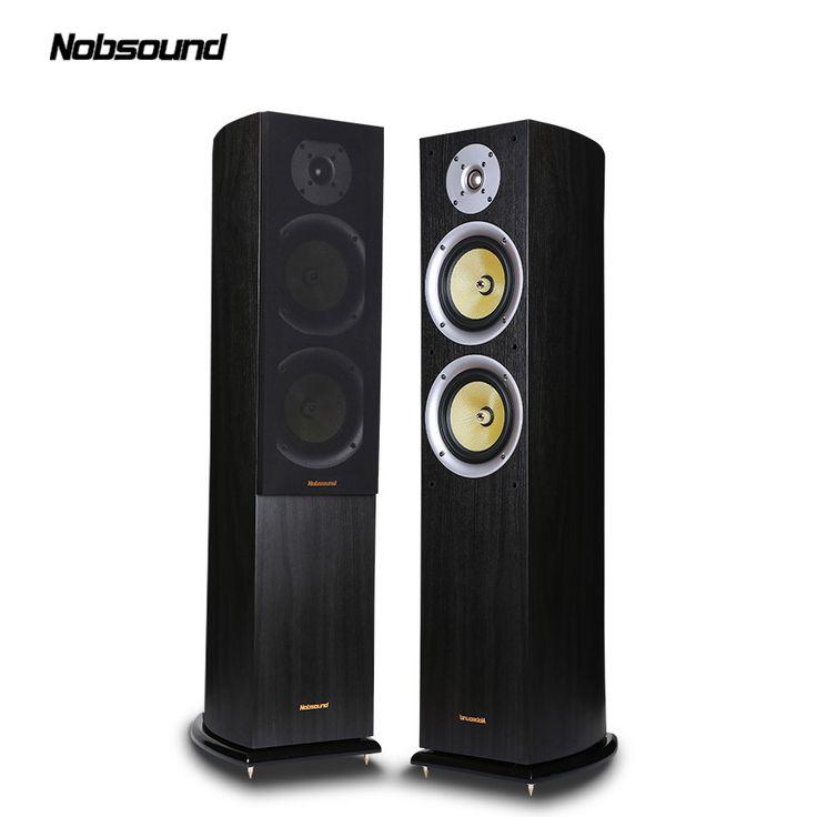 Nobsound VF701 Wood 150W Floor-Standing Speakers 2.0 HiFi Column Sound 6.5 inch speaker Home Professional speakers #Affiliate