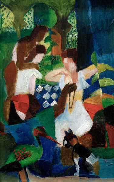 August Macke - Turkish Jeweller, 1914