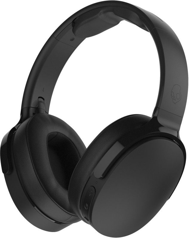 Skullcandy S6htw K033 Bluetooth Headset With Mic At Rs 4 999 From Flipkart Skullcandy Hesh Black Headphones Wireless Headphones Review