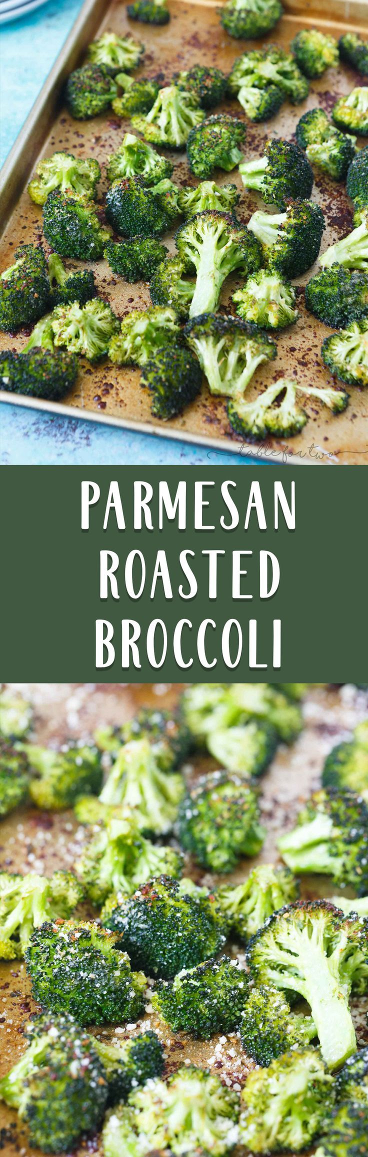 Roasted parmesan broccoli is an easy and delicious way to jazz up the classic roasted broccoli or roasted vegetables! Makes for a great side dish!