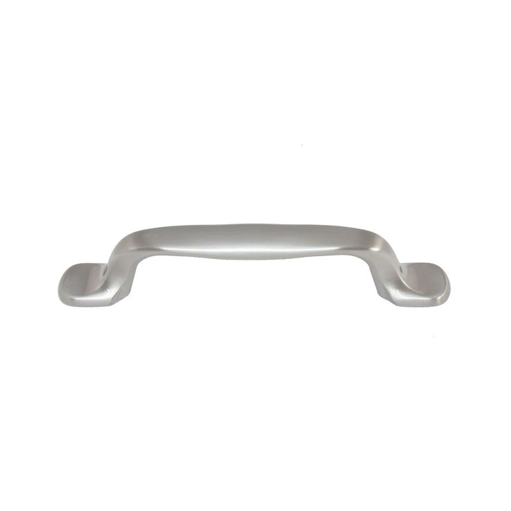 style selections brushed satin nickel bar cabinet pull