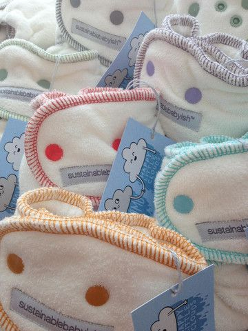 sloomb - Happy Little Clouds wool fitted cloth diapers. So soft just like a fluffy little cloud!