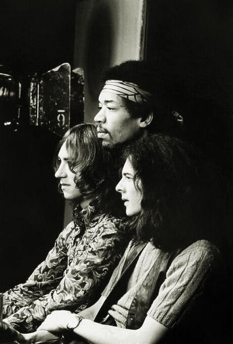 Mitch Mitchell ,Jimi Hendrix & Noel Redding