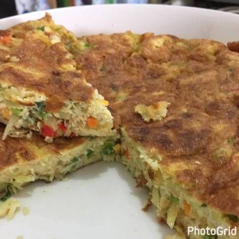 Telur Dadar tebal ala RM Padang